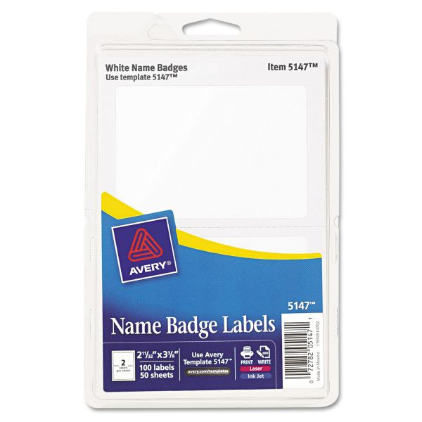 Avery Adhesive Name Tags
