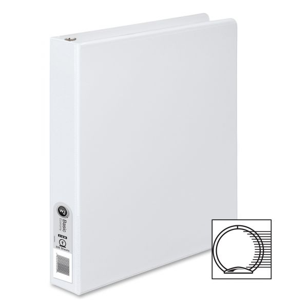 "Wilson Jones 1"" 3-Ring View Binder"