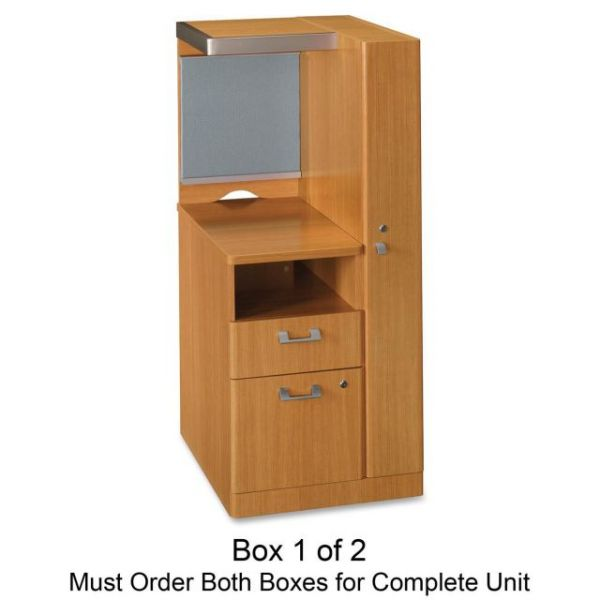 bbf Quantum QT2826MC Right Storage TowerBox 1of 2 by Bush Furniture