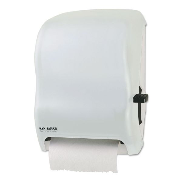 San Jamar Lever Roll Paper Towel Dispenser w/o Transfer Mechanism