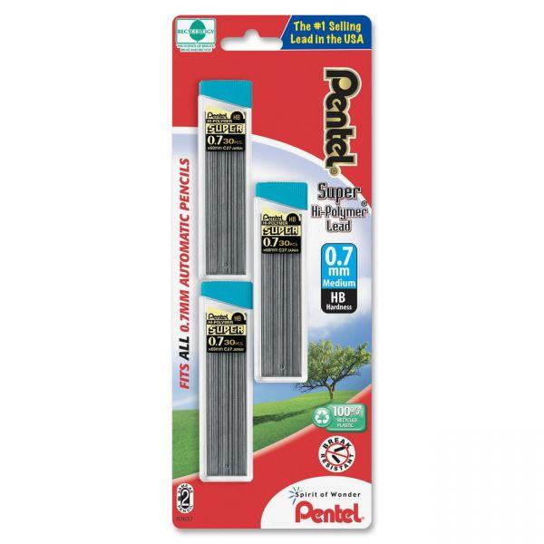 Pentel Super Hi-Polymer HB Lead Refill