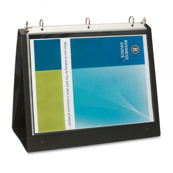 Business Source Easel Ring Binder