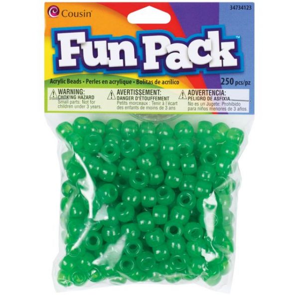 Cousin Fun Pack Acrylic Pony Beads