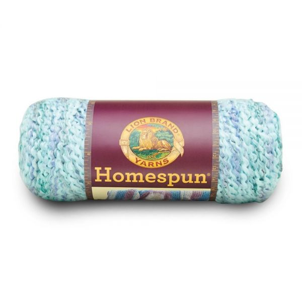 Lion Brand Homespun Yarn - Waterfall