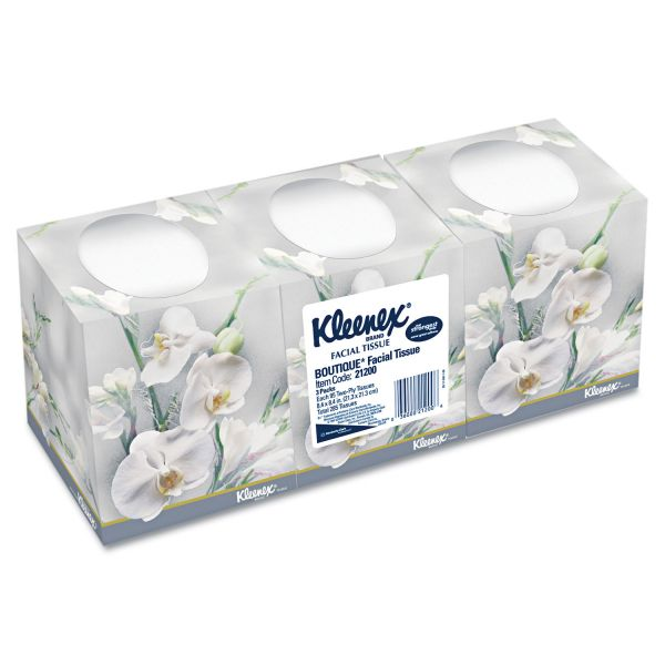 Kleenex Boutique 2-Ply Facial Tissues