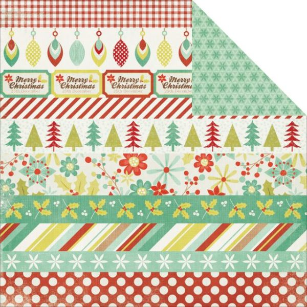 Mistletoe Double-Sided Cardstock