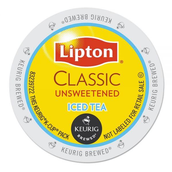 Lipton Classic Unsweetened Iced Tea K-Cups