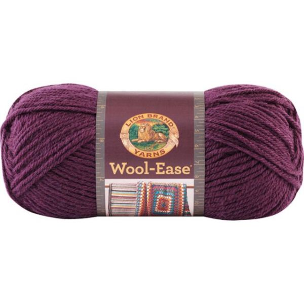 Lion Brand Wool-Ease Yarn - Eggplant