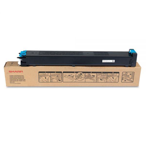 Sharp MX31NTCA Toner, 15,000 Page-Yield, Cyan