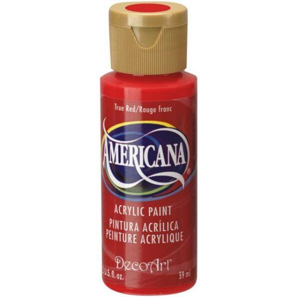 Deco Art Americana True Red Acrylic Paint