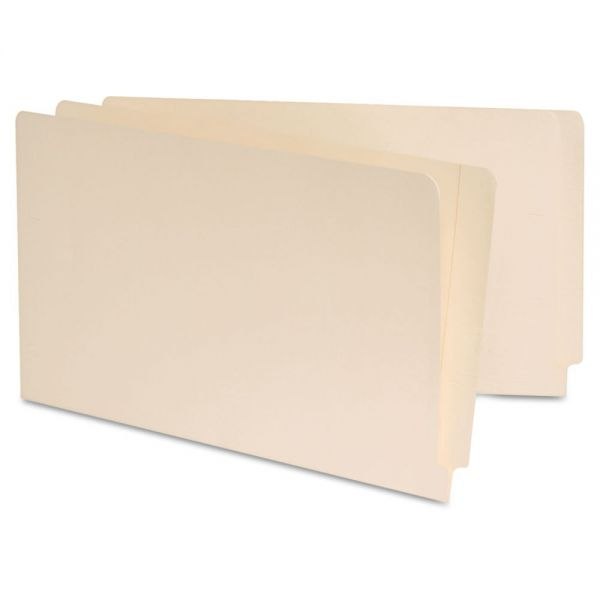 Universal Reinforced Legal Size End Tab File Folders