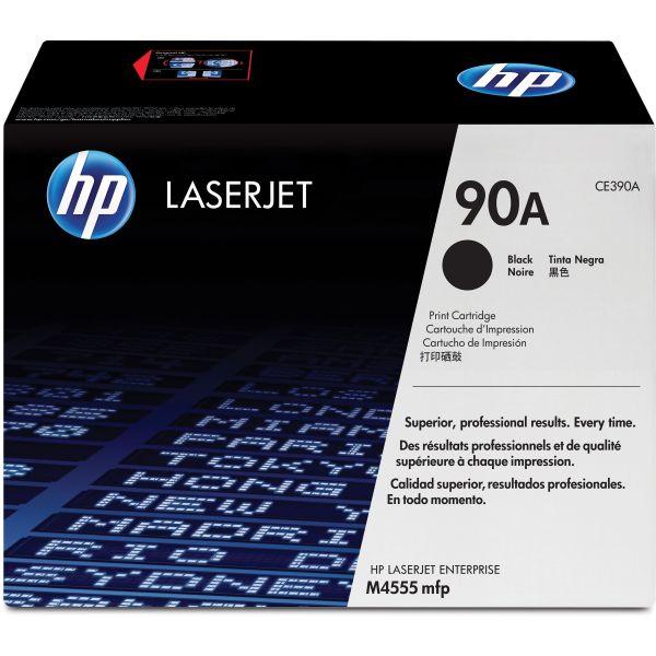 HP 90A Black Toner Cartridge (CE390A)