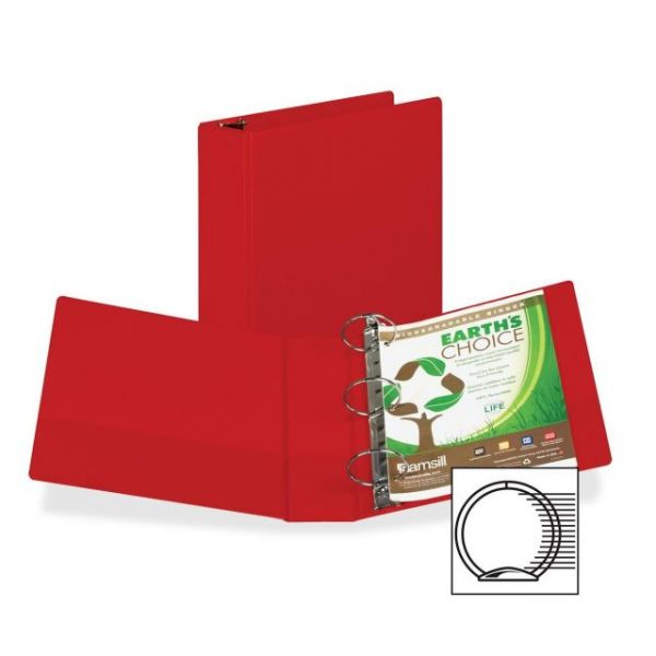 "Samsill 3"" 3-Ring Storage Binder"