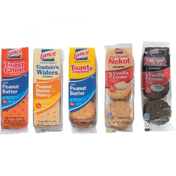 Lance Variety Pack Snack Crackers/Cookies