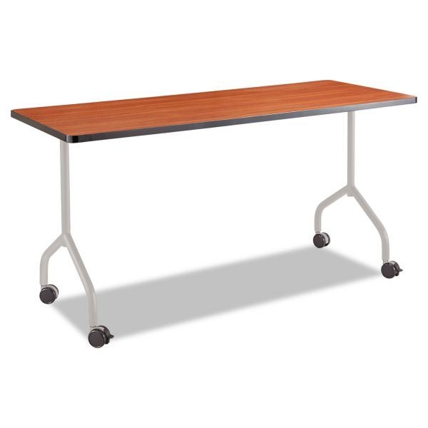 Safco Impromptu Series T-Leg Table Base, Steel, 5 1/4w x 5 1/4d x 28h, Silver