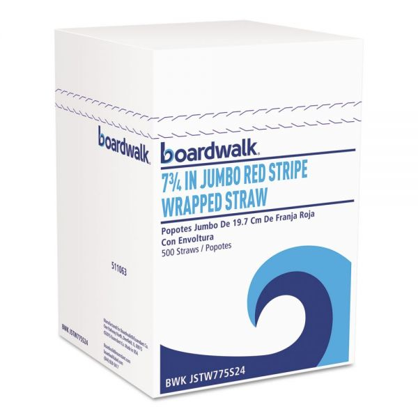 Boardwalk Wrapped Jumbo Straws