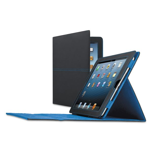 Solo Active Tablet Case for iPad, iPad 2/3rd Gen/4th Gen, Black/Blue