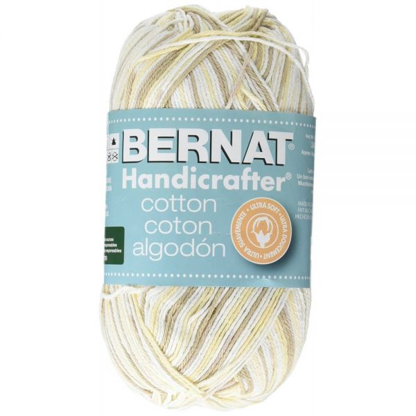 Bernat Handicrafter Cotton Yarn - Queen Anne's Lace