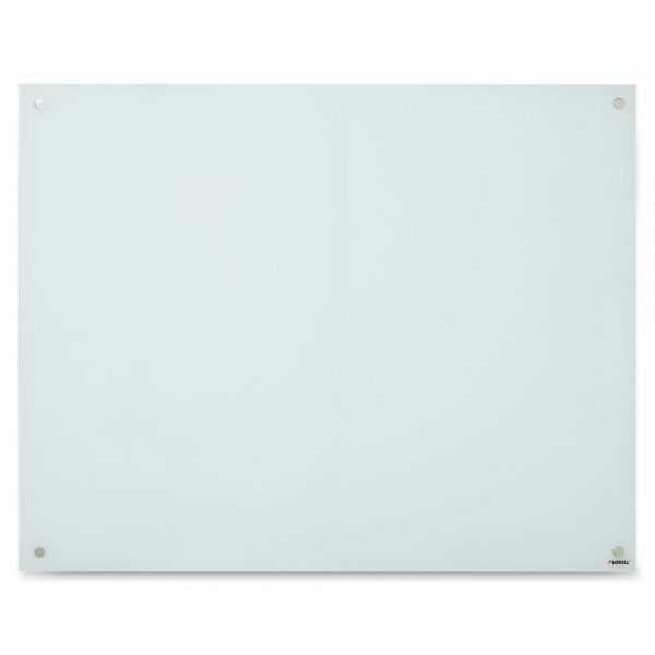 Lorell Magnetic Glass Dry Erase Board