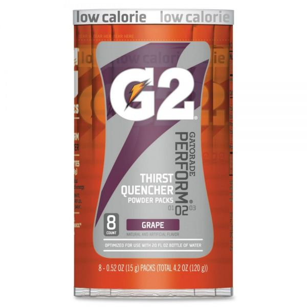 Gatorade G2 Purple Single Serve Powder Packets