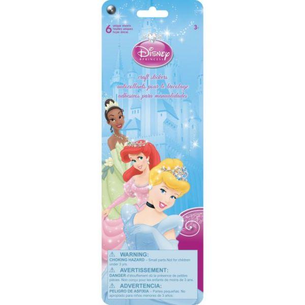SandyLion Disney Stickers 6/Pkg