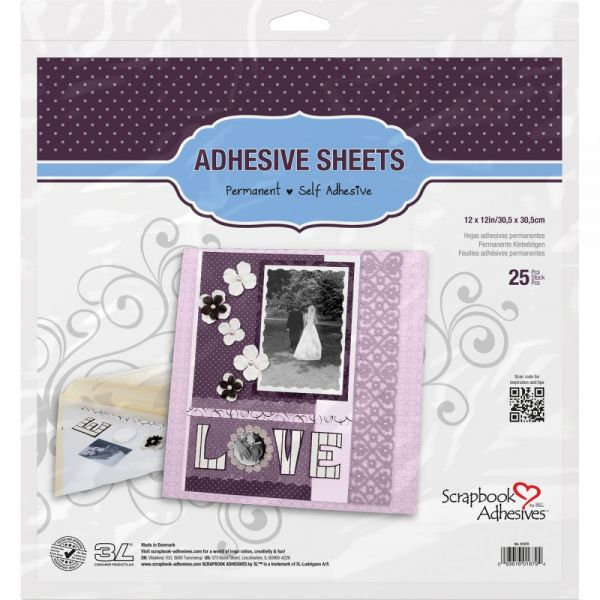 Scrapbook Adhesives Permanent Adhesive Sheets