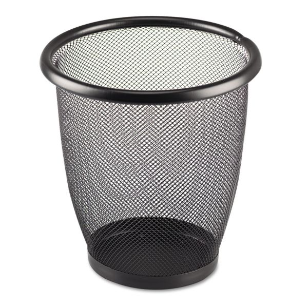 Safco 3 Quart Mesh Trash Can
