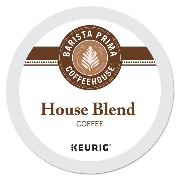 Barista Prima Coffeehouse House Blend Coffee K-Cups