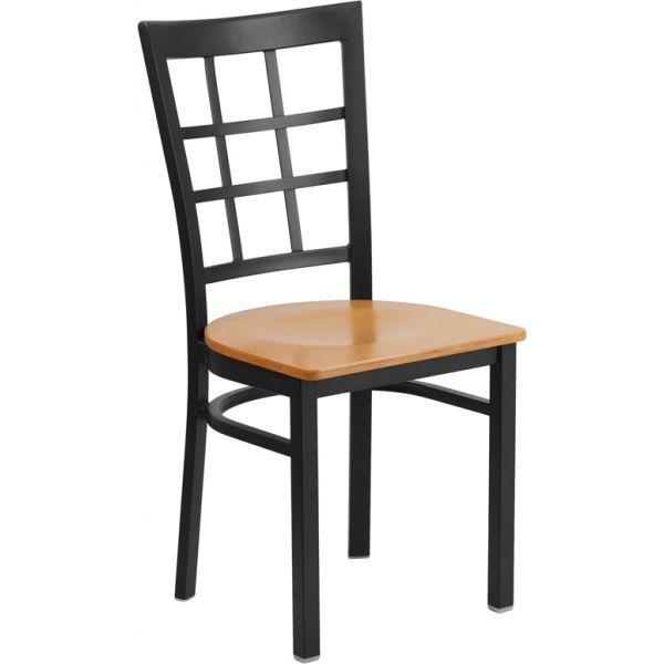 Flash Furniture HERCULES Series Window Back Restaurant Chair