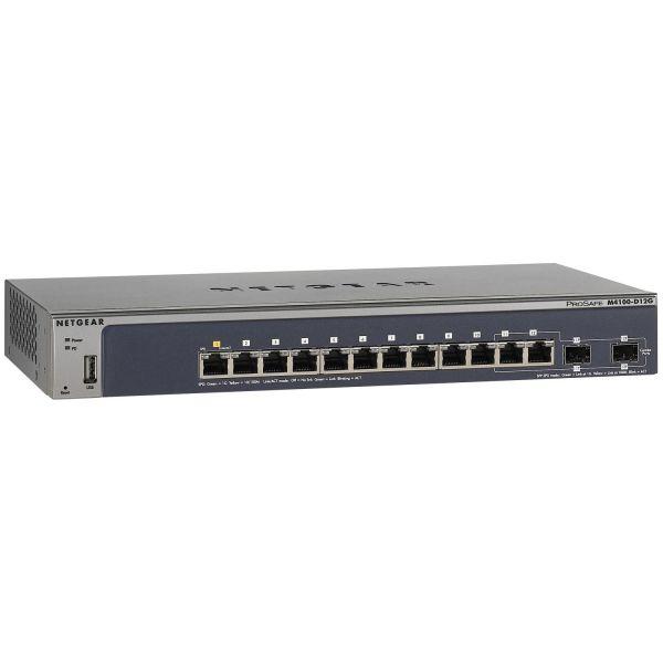 Netgear ProSafe M4100-D12G Ethernet Switch