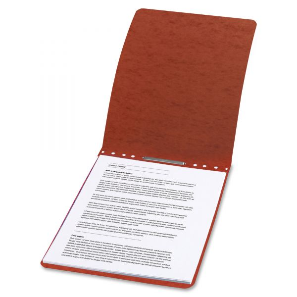 Acco Red Presstex Report Cover