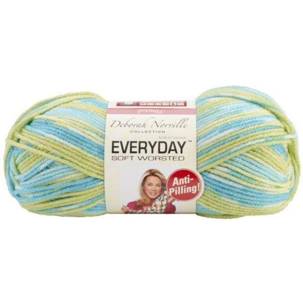 Deborah Norville Collection Everyday Soft Worsted Yarn - Happy Baby