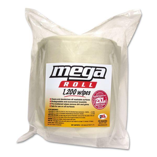 2XL Mega Roll Wipes Refill