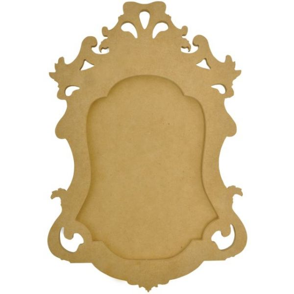 Beyond The Page MDF Small Ornate Frame