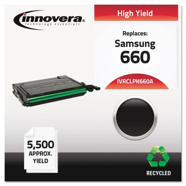 Innovera Remanufactured Samsung 660 (CLP-K660A) Toner Cartridge