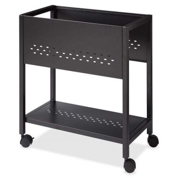 "Lorell 24"" Mobile File Cart"