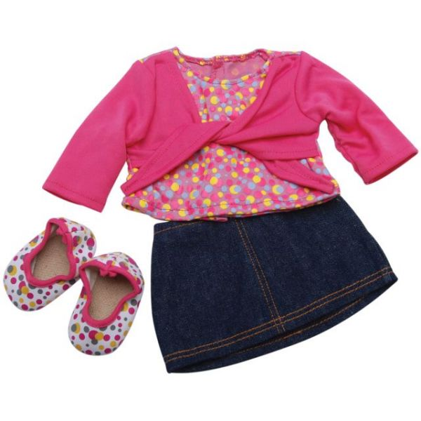 Springfield Collection Denim Skirt Outfit