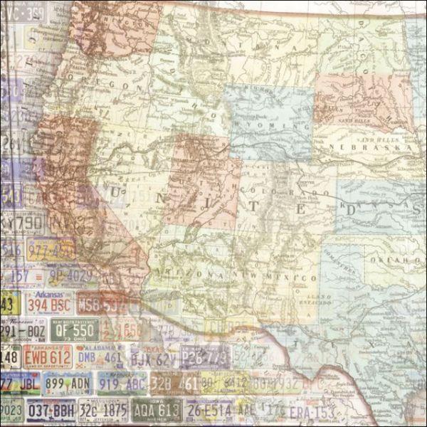 "Road Trip Paper 12""X12"""