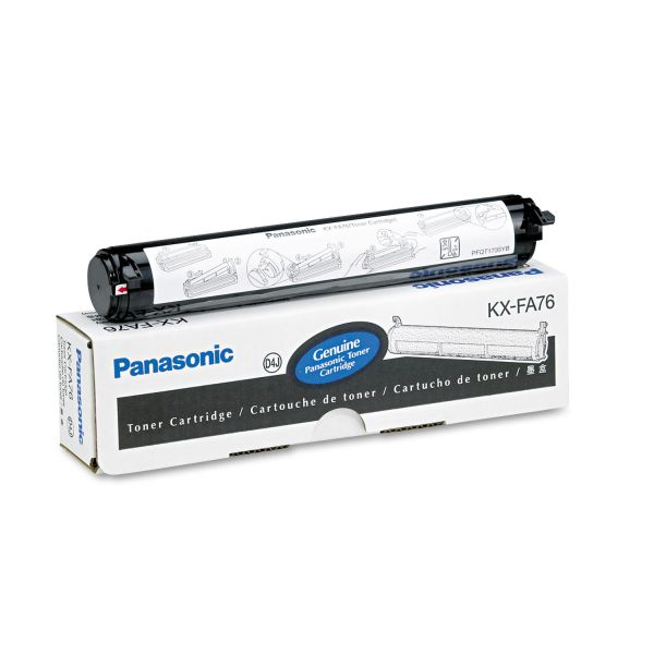 Panasonic KX-FA76 Black Toner Cartridge