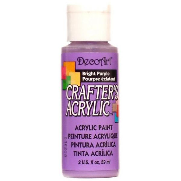 Deco Art Bright Purple Crafter's Acrylic Paint