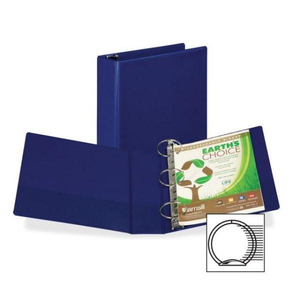 "Samsill 3"" 3-Ring Storage Binder"