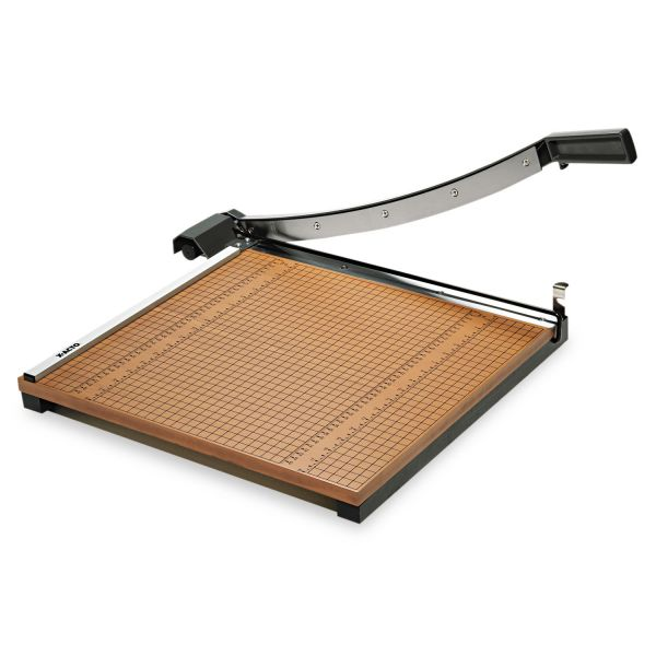 """X-ACTO Wood Base Guillotine 18"""" Paper Cutter"""