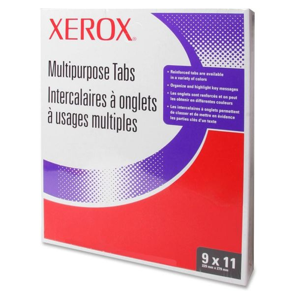 Xerox Straight Collated 5-Tab Index Dividers