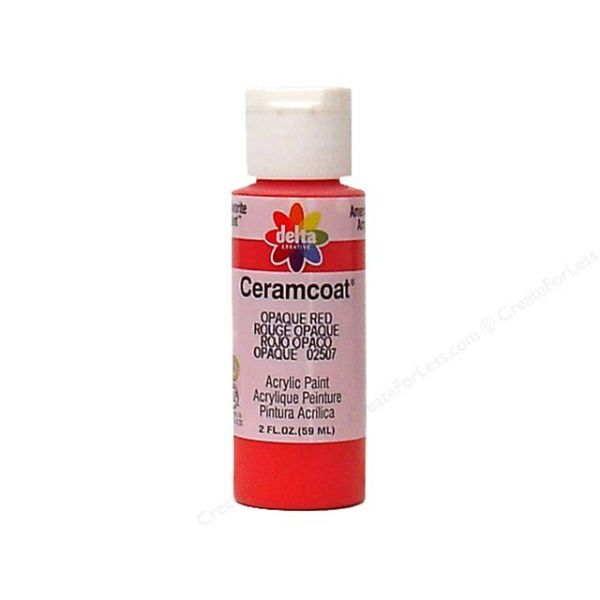 Ceramcoat Opaque Red Acrylic Paint