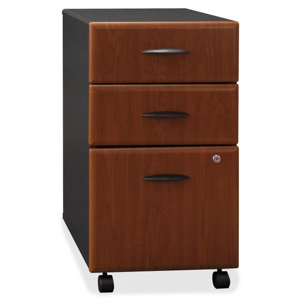 bbf Series A 3-Drawer Mobile File Cabinet by Bush Furniture