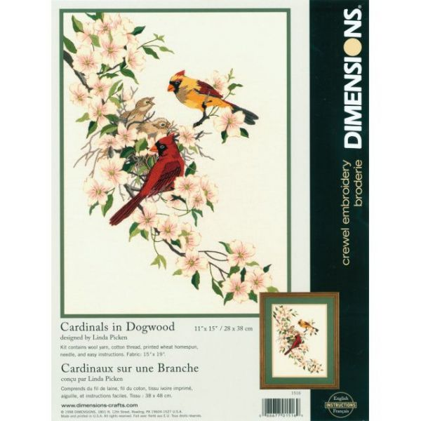 Dimensions Crewel Embroidery Kit