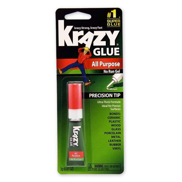 Krazy Glue All Purpose No Run Gel Super Glue
