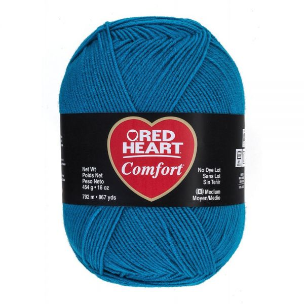 Red Heart Comfort Yarn - Peacock
