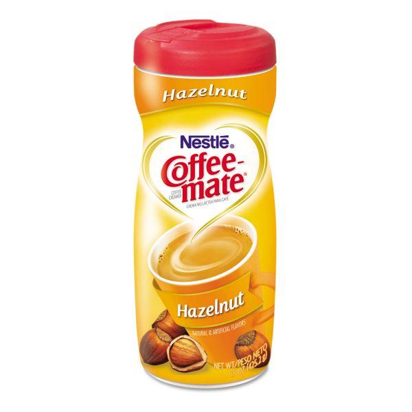 Coffee-mate Hazelnut Creamer Powder, 15oz Plastic Bottle