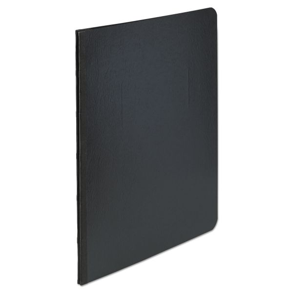 "ACCO Presstex Report Cover, Side Bound, Prong Clip, Letter, 3"" Cap, Black"